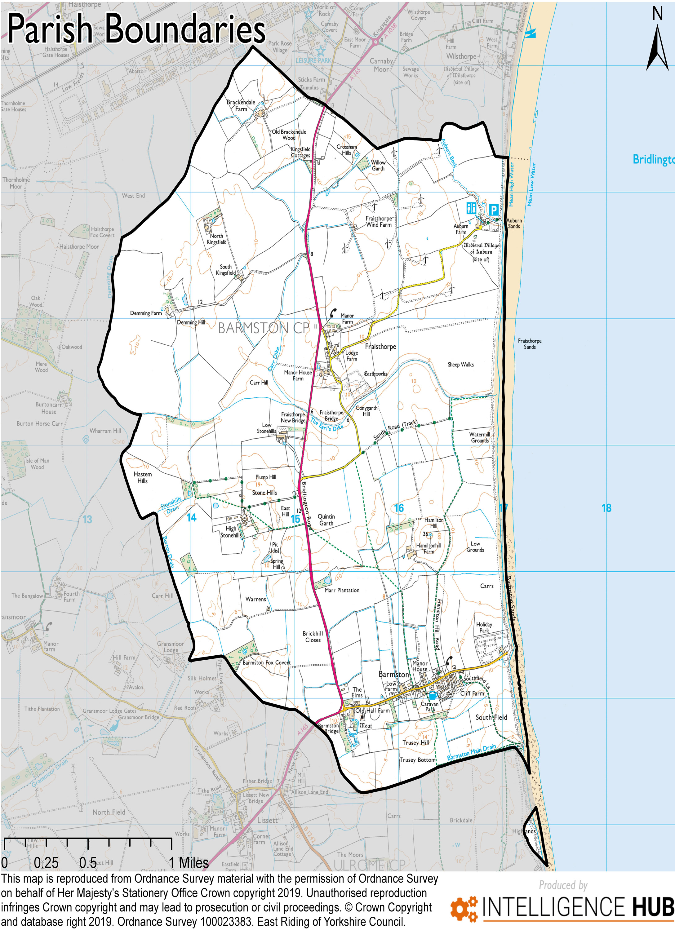 Barmston and Fraisthopre Parish Boundaries